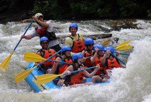 Full Ocoee River Rafting