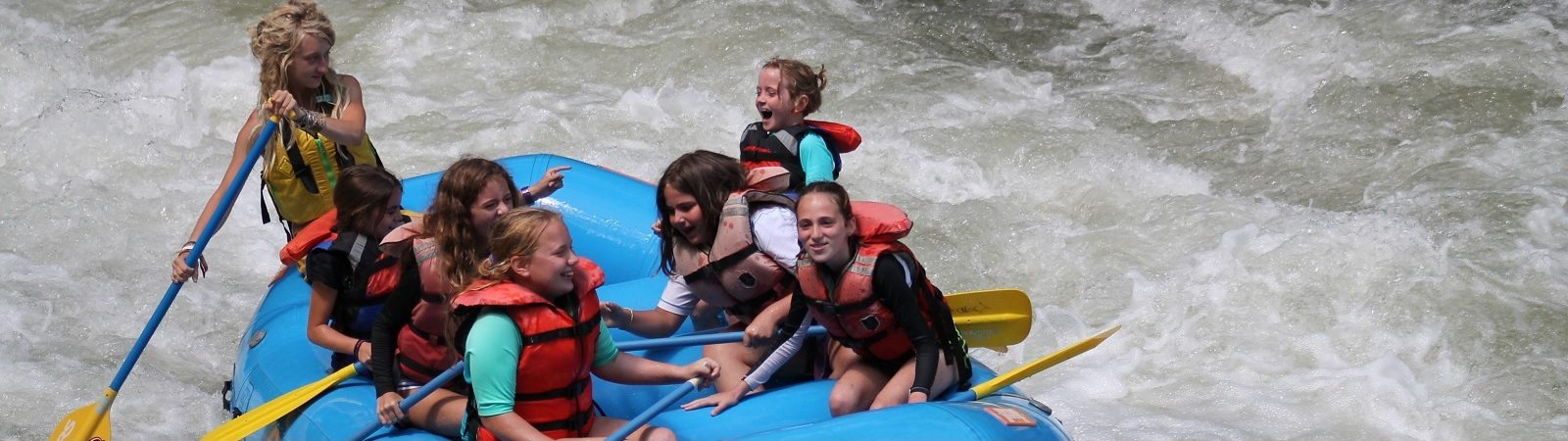 Guided Nantahala River Rafting