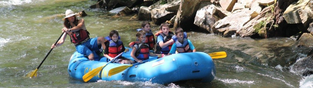 guided nantahala rafting