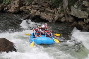 Guided Nantahala River Rafting