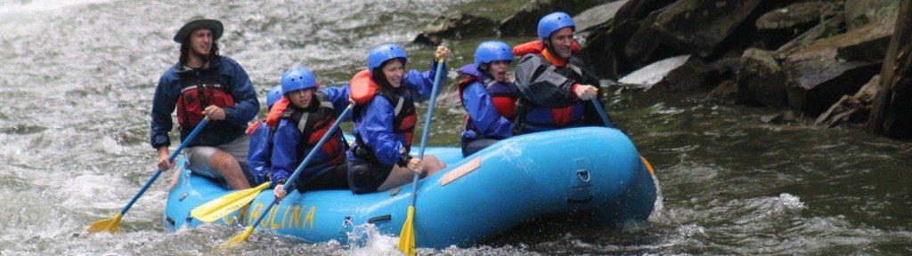 Nantahala White Water Rafting