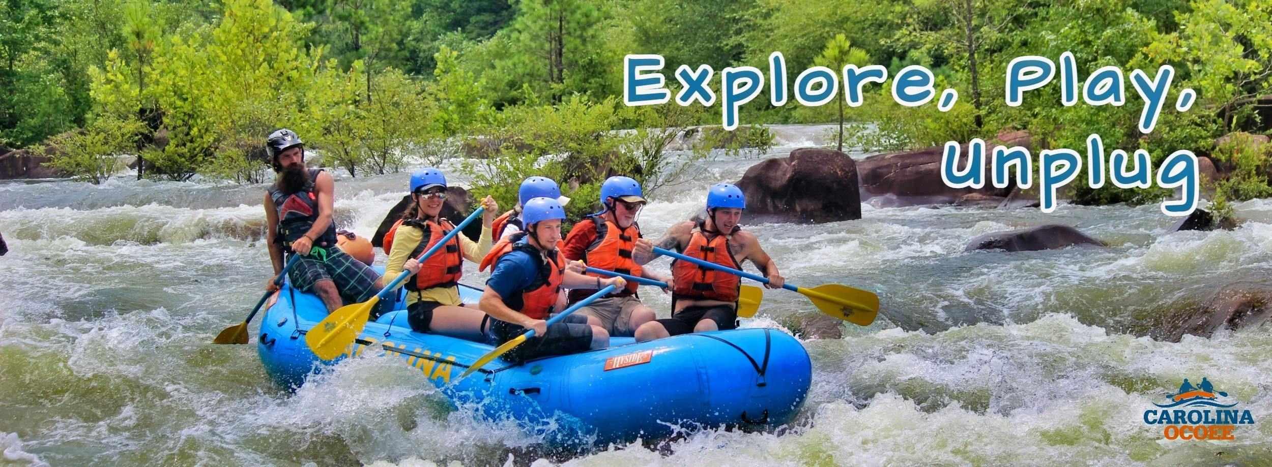 Ocoee River Rafting Explore