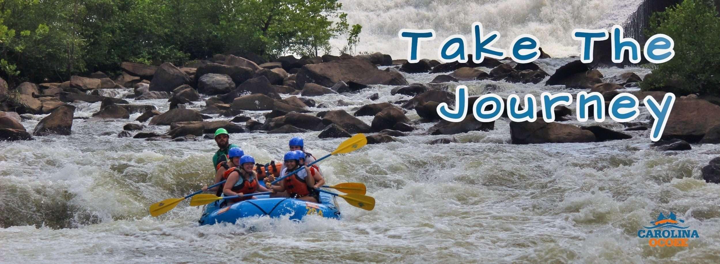 Ocoee River Rafting Journey