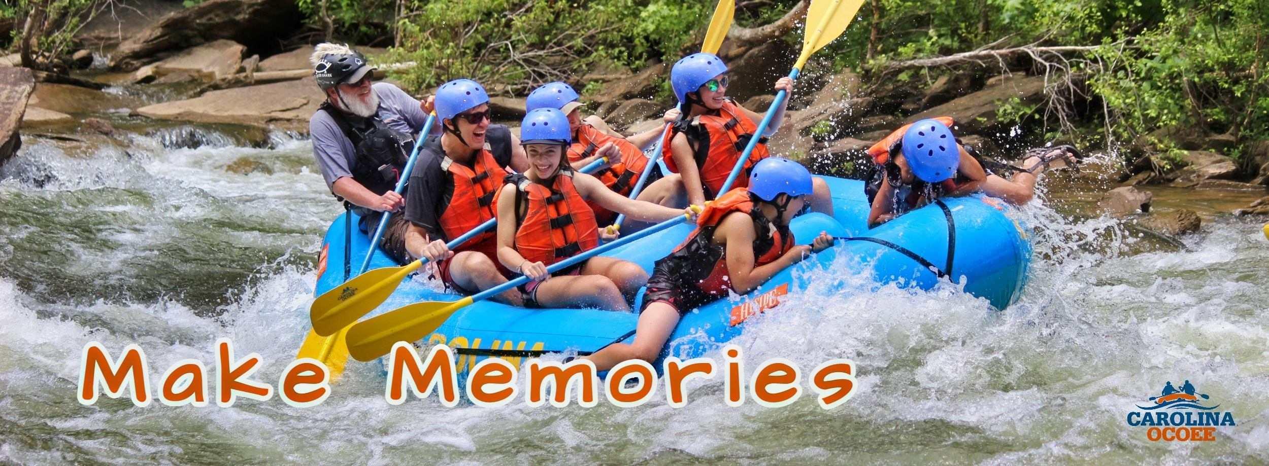 Ocoee River Rafting Memories
