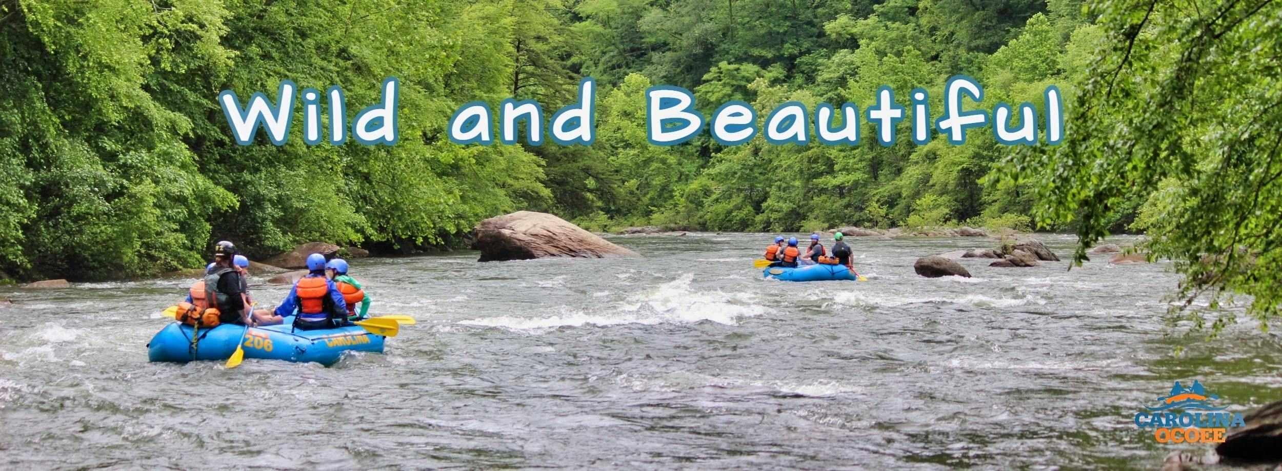 Ocoee River Rafting Wild