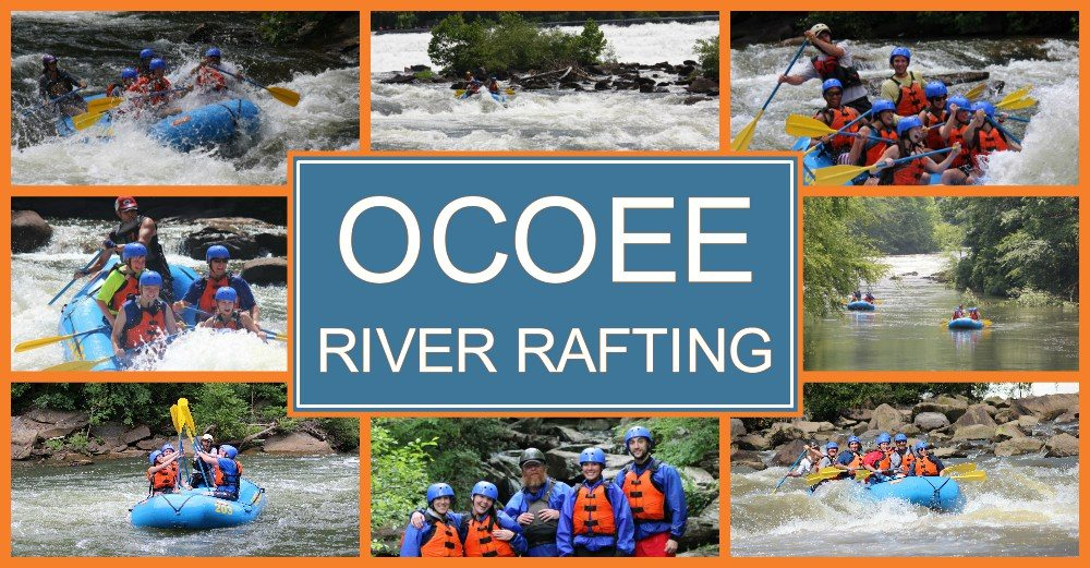Ocoee river rafting near Atlanta