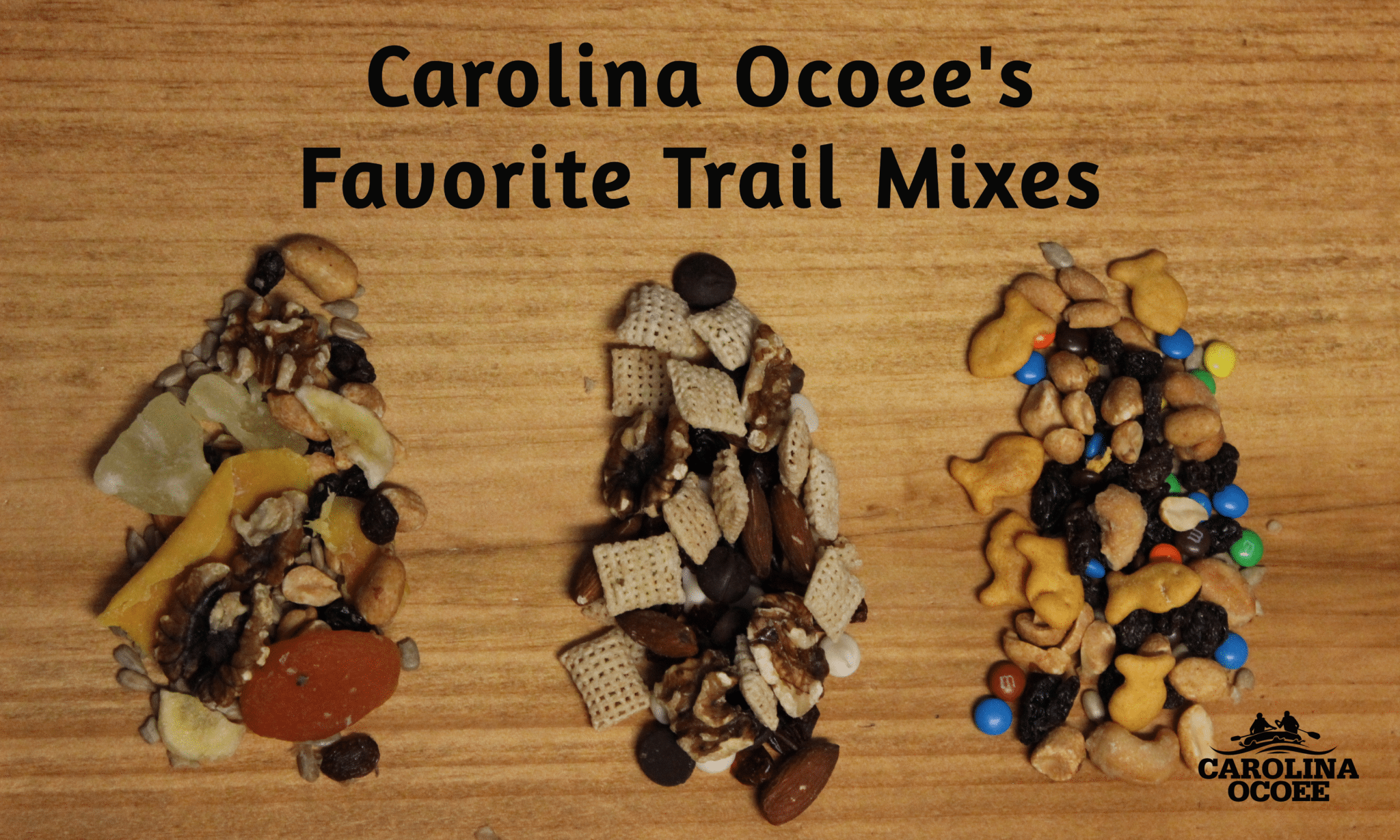 Ocoee River Rafting Trail Mix