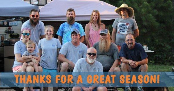 Thanks For A Great Ocoee Rafting Season!