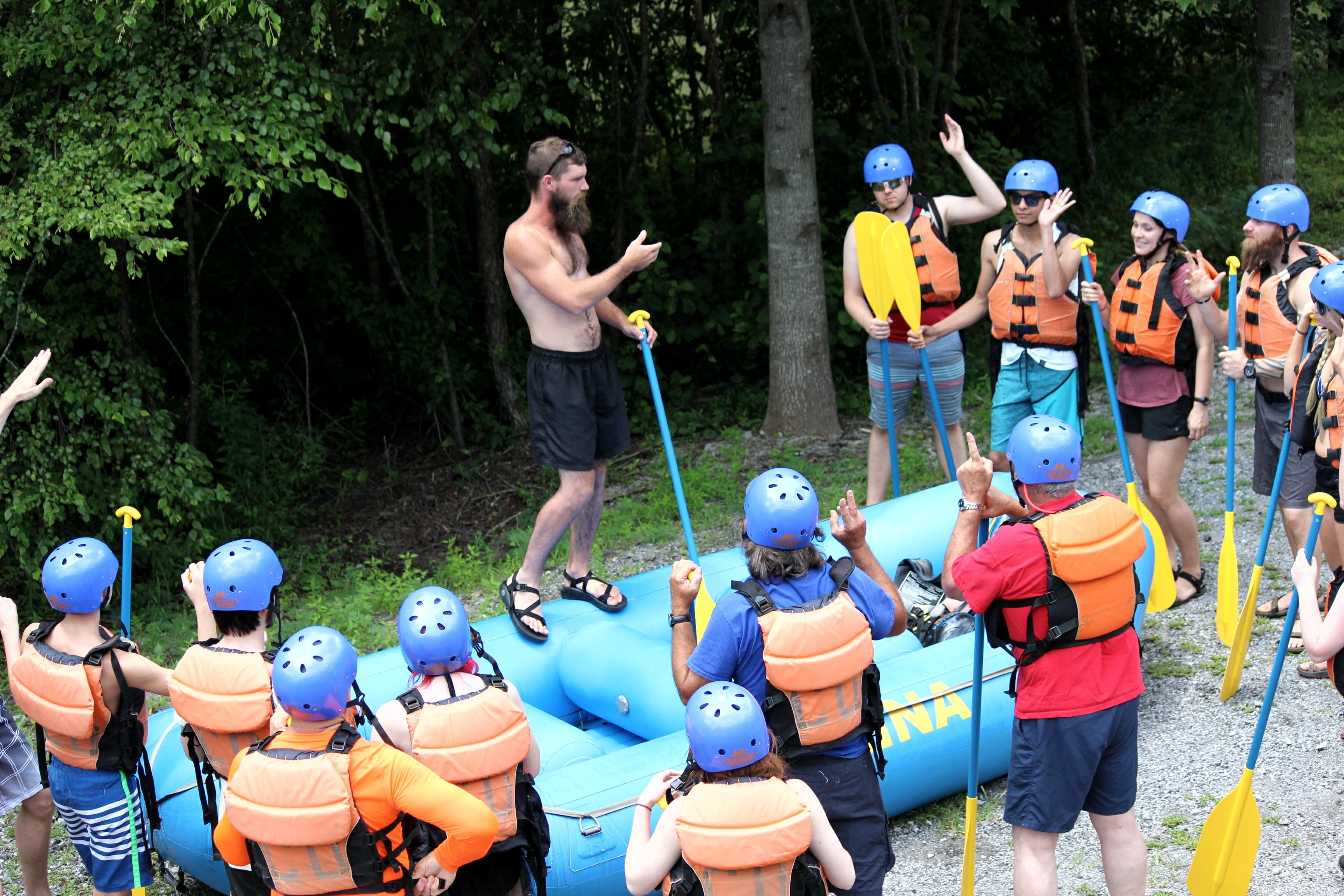 Ocoee Rafting Trip Speech