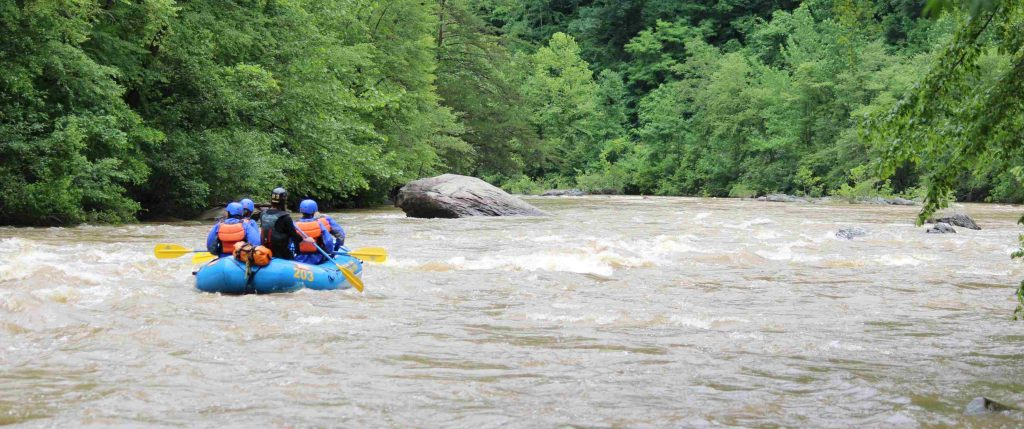 what we learned whitewater rafting
