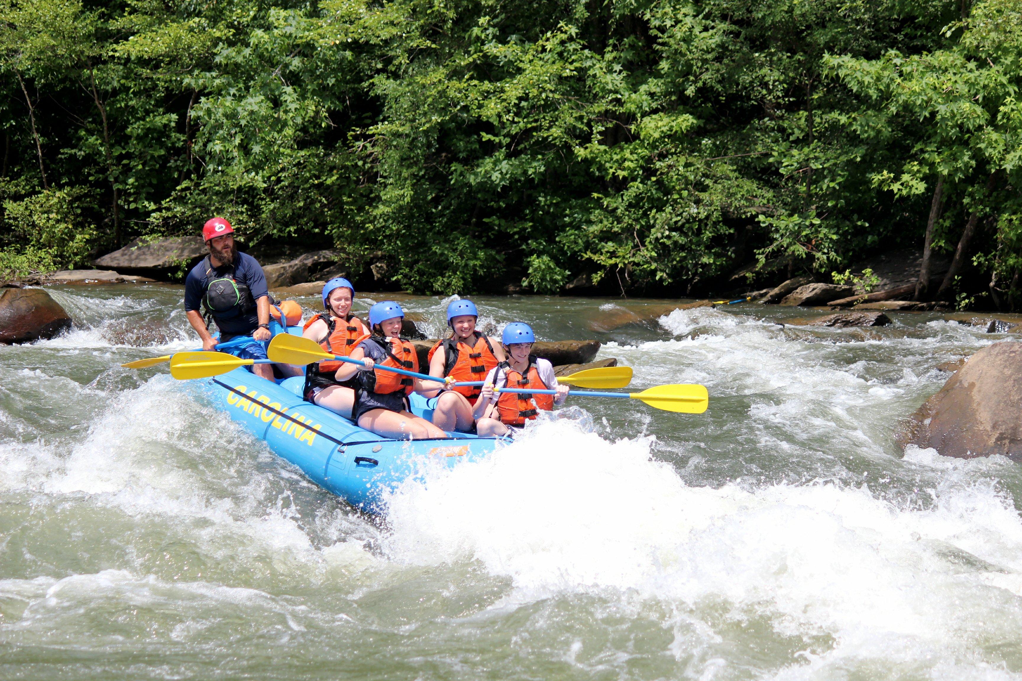 Ocoee River Rapids
