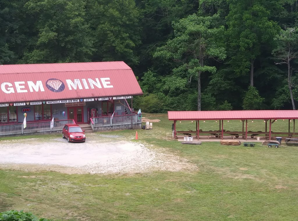 Nantahala River Gem Mine