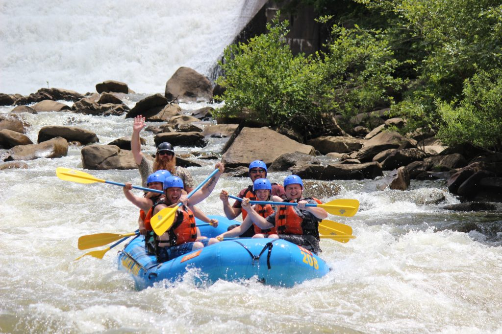 The best Ocoee River Rafting Near Ducktown, TN