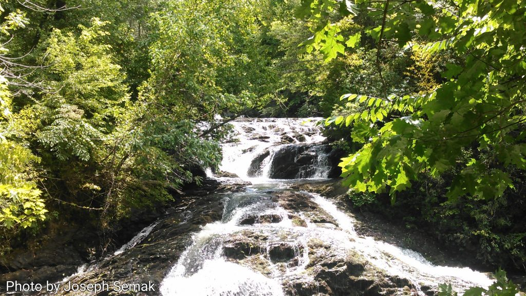 Turtletown Falls near Ducktown, TN Photo by Joseph Semak