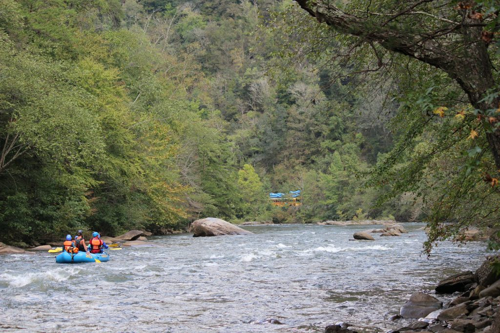 Ocoee River Rafting is located 3 hours from Huntsville, AL.