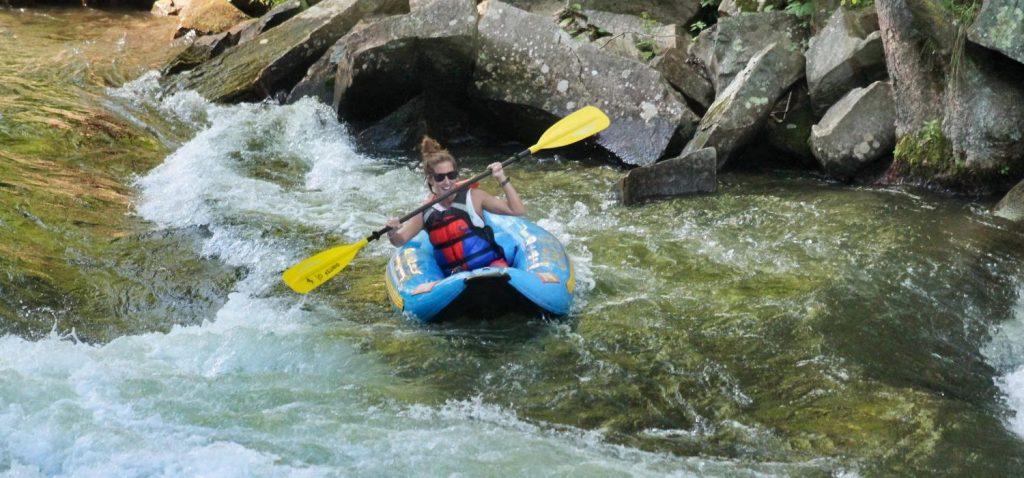 Ducky Nantahala River White Water Rafting