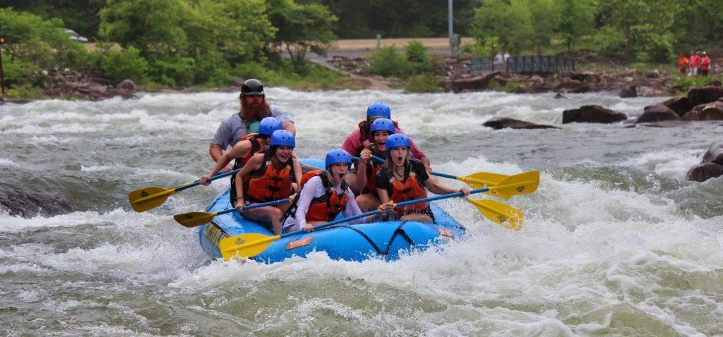 Full Ocoee River White Water Rafting Combo