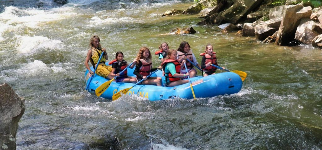 Guided Nantahala River White Water Rafting