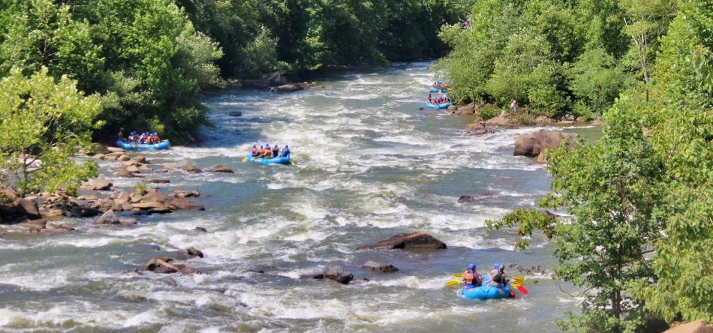 Middle Ocoee River White Water Rafting