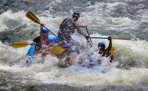MIddle Ocoee White Water Rafting
