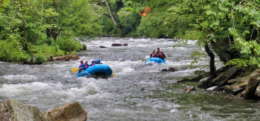 Non Guided Nantahala River White Water Rafting